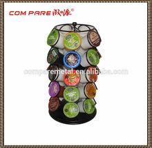 Iron Ball Top Keurig K-Cup Spinning Carousel/ Holder/ Rack/ Dispenser