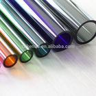 colorful borosilicate glass tube for labware