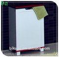 design einzigartig chrom wäschekorb mit rad