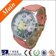 Eco-friendly nickel free ladies fashion flower watch