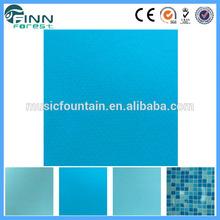 swimming pool waterproof blue mosaic liner pool