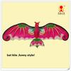 3d bat kite, flying bird kite , flying bat kite