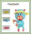 2014 novo best-seller brinquedoseducativos magic nuudles crianças do berçário brinquedoseducativos verde e seguro educacional criando