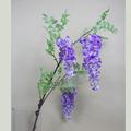 Artificiais wisteria, venda quente e de alta qualidade wisteria flor de seda