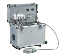 3 holders with head light dental portable x-ray unit