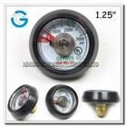 Oxygen cylinder application use no oil pressure gauge
