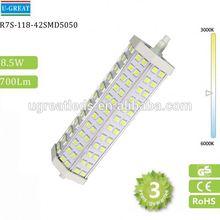 Hot selling R7S 15W 3 chips power 24led corn lamp led bulb r7s