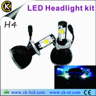 auto with CREE chips 5000K h4 6500K led headlight head light lamp