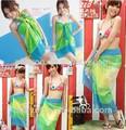 Phayon kız plaj kıyafeti, askısız kadın Pareo sarongs