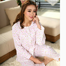 2015 Customized Women's Flannel Pajamas