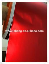 red dull/matt aluminium foil paper cardboard factory,foil laminated cardboard