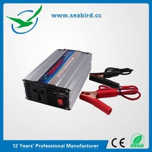 1kw voltage transformer solar price inverter / home ups with alligator clip input wiring