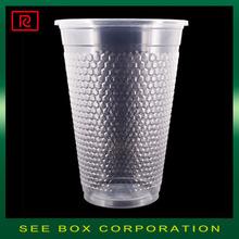 K500-P PP 16oz 500ml disposable transparent - plastic cup microwave safe