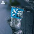 U290-p pp. 9oz 290ml jetables.- imprimés en plastique tasse de jus