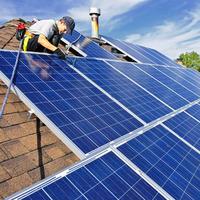 Bluesun popular easy install solar kits system for home