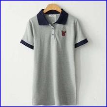 Wholesale hemp blank t-shirt sublimation print t shirt korean clothing for girls 2014