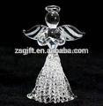 mode main en verre filé ange décorations de noël arbre