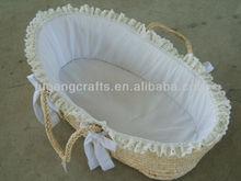 grass Moses Basket baby basket