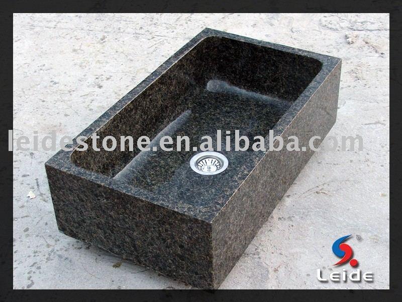 Granito verde ubatuba fregadero de la cocina - Fregadero de granito ...