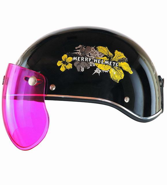 cute yellow ABS open face motorcycle mini helmet 918