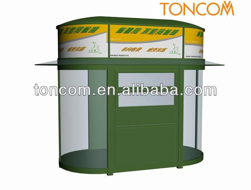 food serving kiosk