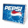 Magic aluminium frame EL flash lighting box with animation poster for PEPSI