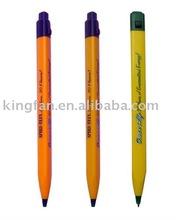Jumbo plastic triangle pen (logo printing on 3 sides)