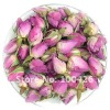 Dried Flower Tea,Flavor tea,Pink Rose Buds Herbal Tea,French Rose Buds