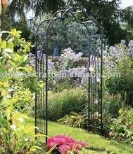 Wrought Iron Powder Coated Garden Arch