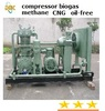 Nitrogen Hydrogen Natural gas Bio gas booster compressor , oil free air cooled water cooled