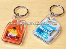 Wholesale clear acrylic keychain keyring