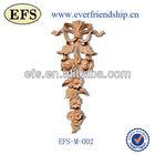 wood decorative furniture onlays appliques(EFS-M-002)