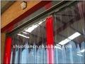 pvc cortina de tiras de portas