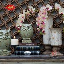 Antique Ceramic Home Decorations Owl and vase