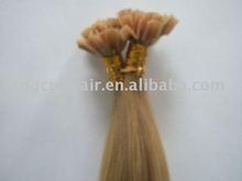 V-tip keratin human hair extension