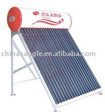 non-pressurized solar hot water heater