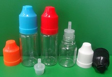 10ml PET empty plastic e cig liquid bottle made in China