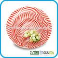 El vario tamaño de vidrio templado dinnerwares-- la placa