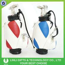 golf club gift golf bag pen sets with logo printing