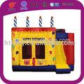 De haute qualité beau gâteau d'anniversaire intérieure videurs gonflables