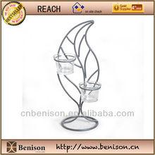 Wholesale High Quality Tea Light Candle Holder With Leaf Shape