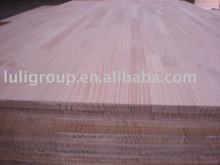 solid edge glued panel /pine finger joint board from china luli