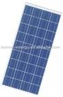 130W polycrystal solar panel solar cell