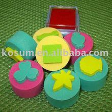 kids education EVA foam pad stamp