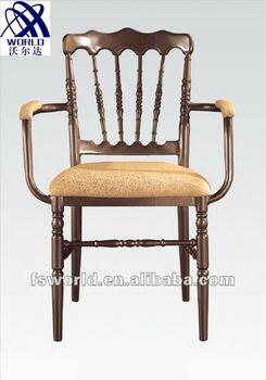 aluminum chiavari armrest chair