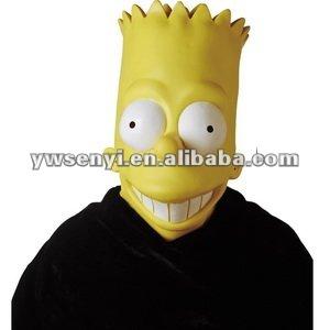 épisode du masque de Simpsons