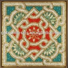 Stone mosaic pattern decoration material