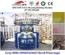 Velvet Shearing Circular Knitting Machine,knitting machine manufature,velour fabric