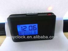 digital LED projection desk clock