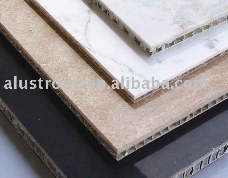 Panneau sandwich en nid d 39 abeille aluminium nids d for Panneau composite salle de bain